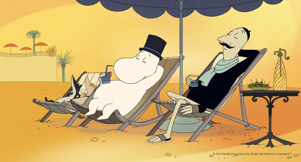 © 2012 Handle Productions Oy, Pictak Cie © Moomin Characters™