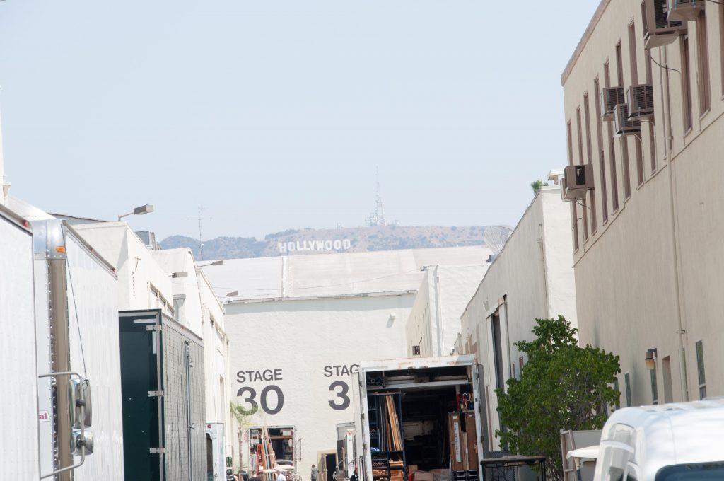 Näkymä Hollywood-kyltille. Kuva: Otto Manninen