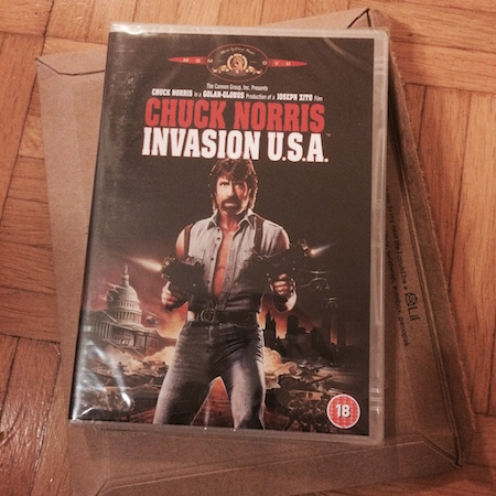 Invasion U.S.A. (1985) -dvd