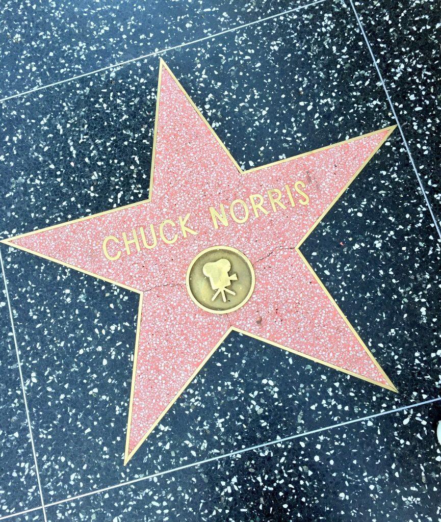 Chuck Norrisin tähti